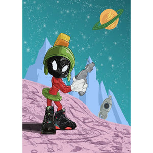 Diamond Painting-5D Full Round Drill Marvin the Martian