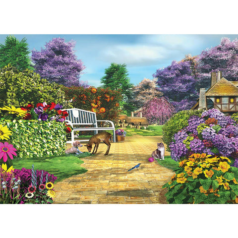Diamond Painting-5D Full Square Drill Garden
