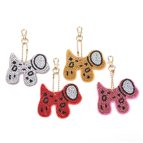 DIY Diamond Painting Keychain-4pcs/set Horse