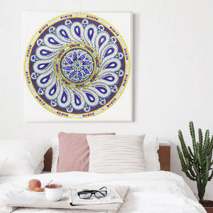 Diamond Painting-DIY Crystal Rhinestone Mandala