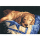 Diamond Painting-5D Full Round Drill Sleeping Dog