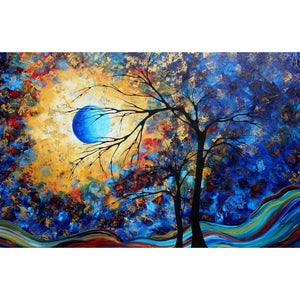 Diamond Painting-5D Full Round Drill Tree Shadow