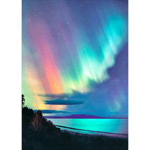 Diamond Painting-5D Full Square Drill Beautiful Aurora