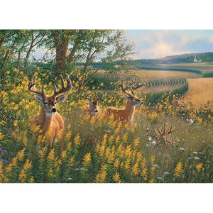 Diamond Painting-5D Full Square Drill Deer Nature