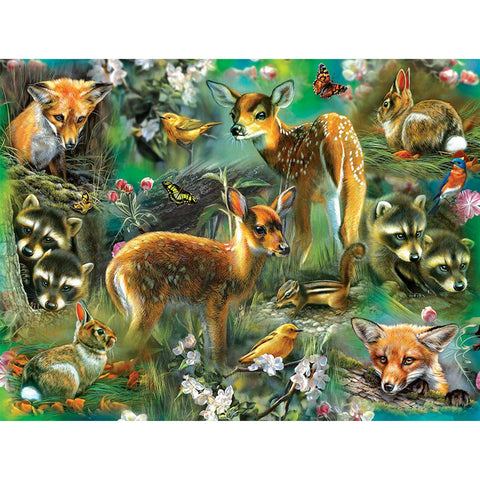Diamond Painting-5D Full Square Drill Sika Deer