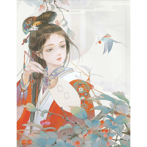 Diamond Painting-5D Full Round Drill Geisha (40X50)