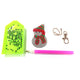 DIY Diamond Painting Keychain-4pcs/Set Christmas Bag Keychain Jewelry Gift