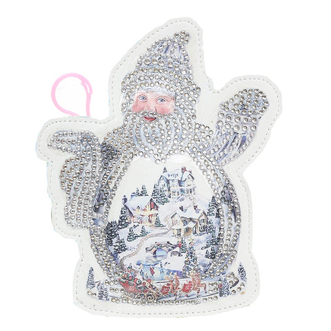 DIY Special Shaped Diamond Painting Snowman Wallet Cross Stitch Coin Purse