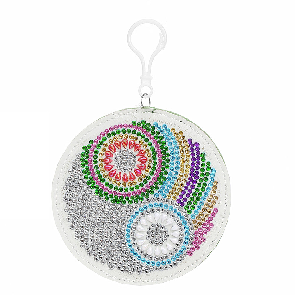 DIY Special Shaped Diamond Painting Wallet Mandala Coin Purse Keychain Gift