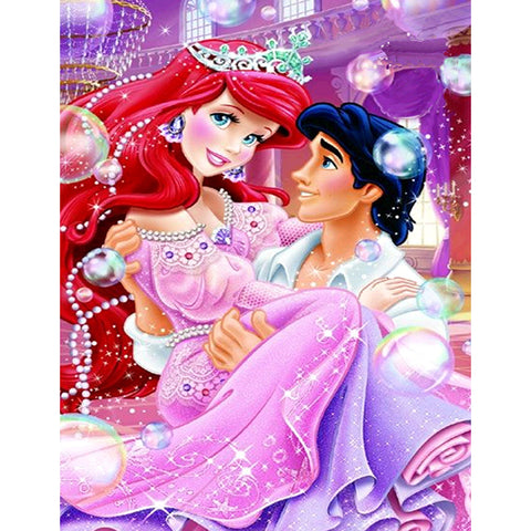 Diamond Painting-5D Full Round Drill Snow White(40X50)