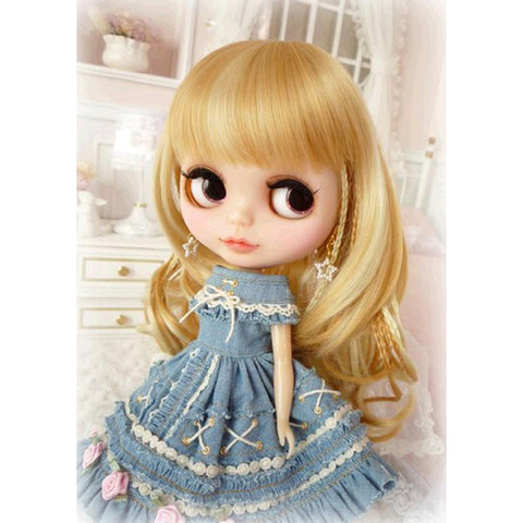 Diamond Painting-5D Full Round Drill Doll