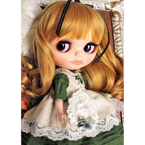 Diamond Painting-5D Full Round Drill Beautiful Doll