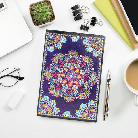 DIY Crystal Pterosaur Diamond Painting Mandala Notebook