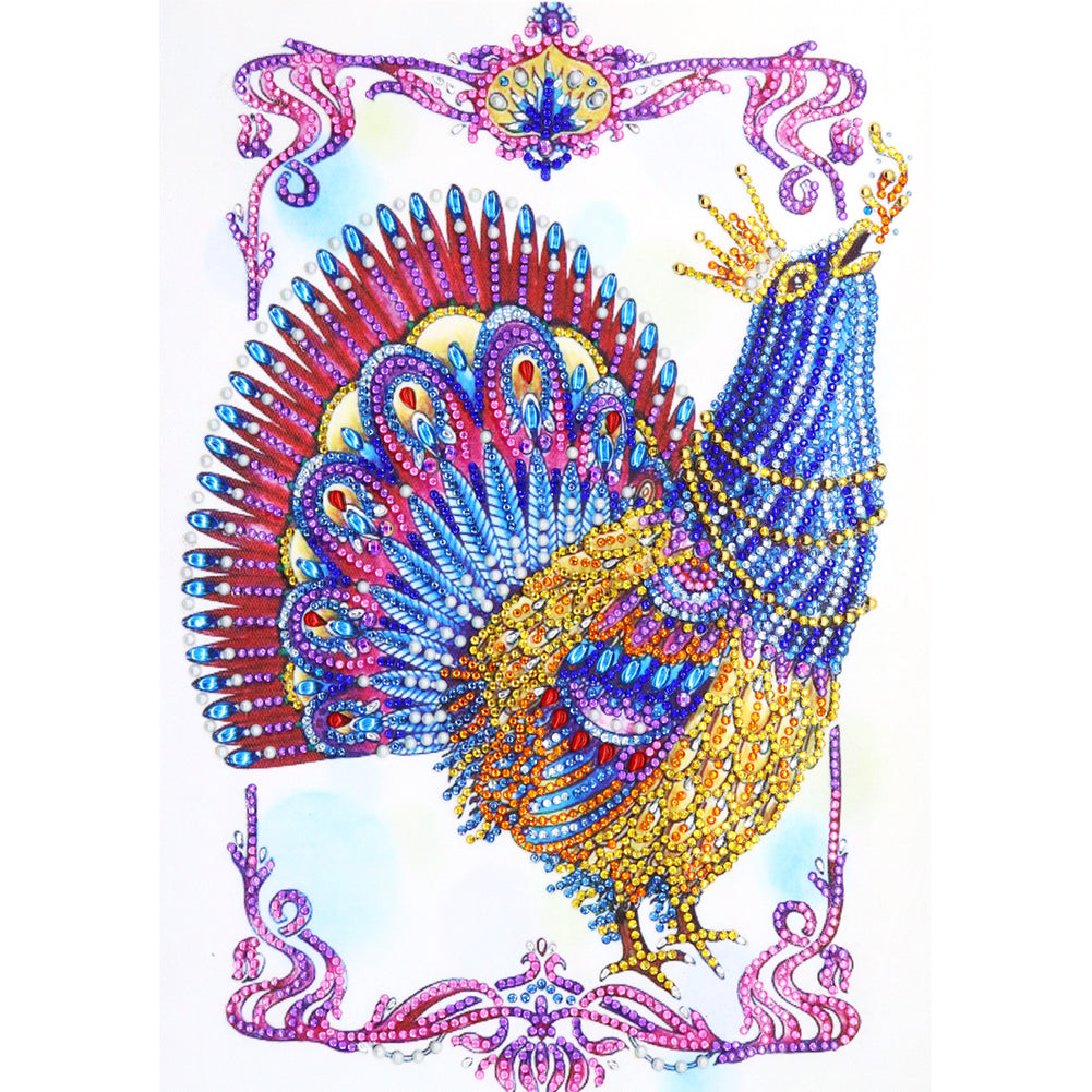 Diamond Painting-DIY Crystal Rhinestone Hen
