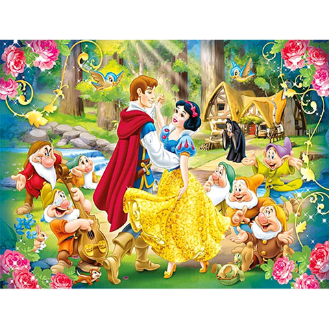 Diamond Painting-5D Full Round Drill Snow White