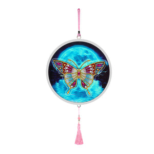 Butterfly Diamond Painting Partial Drill Special Shape Household Decoration