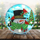 DIY Special Shape Diamond Painting Xmas Snowman Light Embroidery Home Decor