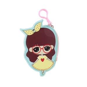 DIY Special Shaped Diamond Painting Wallet Girl Coin Purse Pendants Gifts