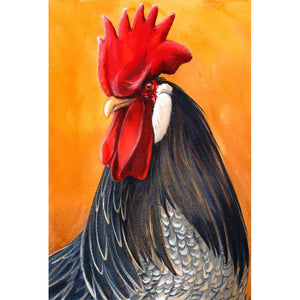 Diamond Painting-5D Full Round Drill Rooster