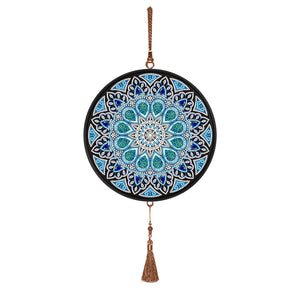 Mandala Tassels DIY Diamond Painting Special Shape Full Drill Home Pendants