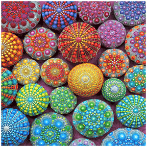 Diamond Painting-5D Full Round Drill Colorful Stones(40X40cm)