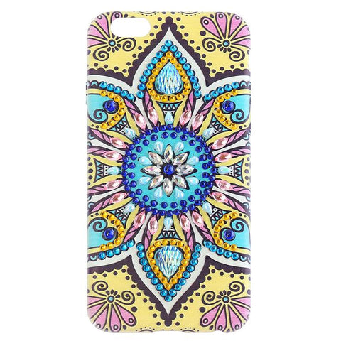 DIY Special Shaped Diamond Painting PVC Phone Case for iPhone 6/6s