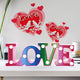 DIY Diamond Painting LED Lamp Crystal Rhinestone Love Room Decor