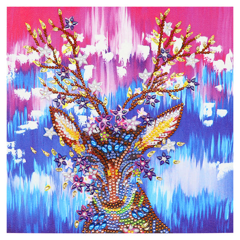 Diamond Painting-DIY Crystal Rhinestone Elk