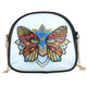 DIY Special Shaped Diamond Painting Leather Crossbody Bag Chain Clutch Gift
