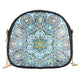 DIY Flower Special Shape Diamond Painting Leather Shoulder Bag Chain Clutch
