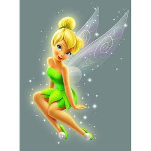 Diamond Painting-5D Full Round Drill Tinker Bell