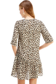 'PIPPA' Cheetah Tunic Dress