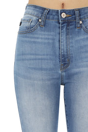 High Waisted 5 Pocket Skinny Jeans