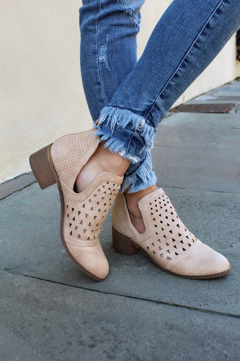 'VICKI' Cut Out Bootie