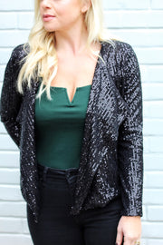 'REEDY' Sequin Blazer - FINAL SALE