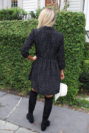 'PEYTON' Dotted Tunic Dress