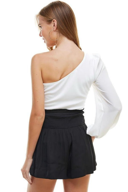 'PALMER' One Shoulder Top