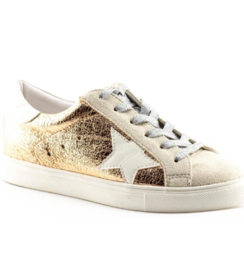 GG Star Sneakers - Rose Gold