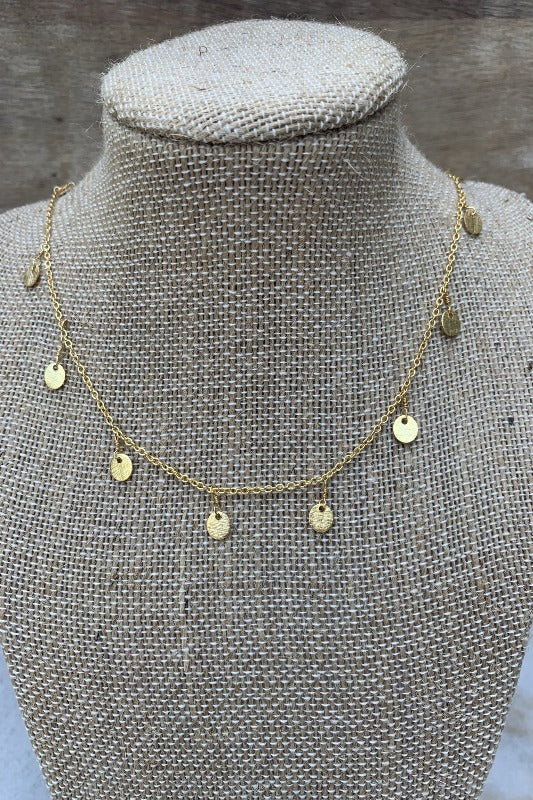 SNAFFLE BIT- Disc Choker Necklace