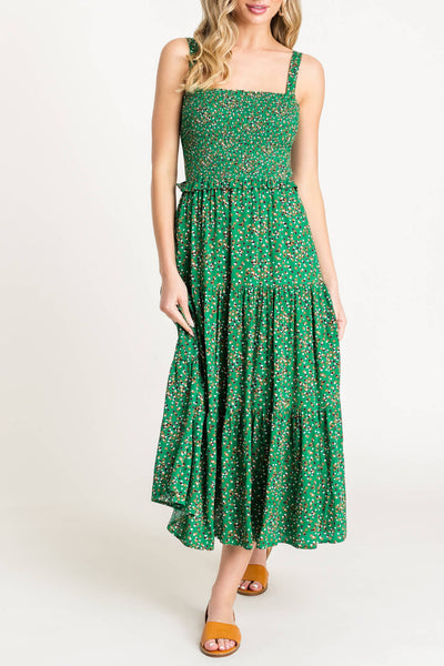 'ALY' Spotted Dress