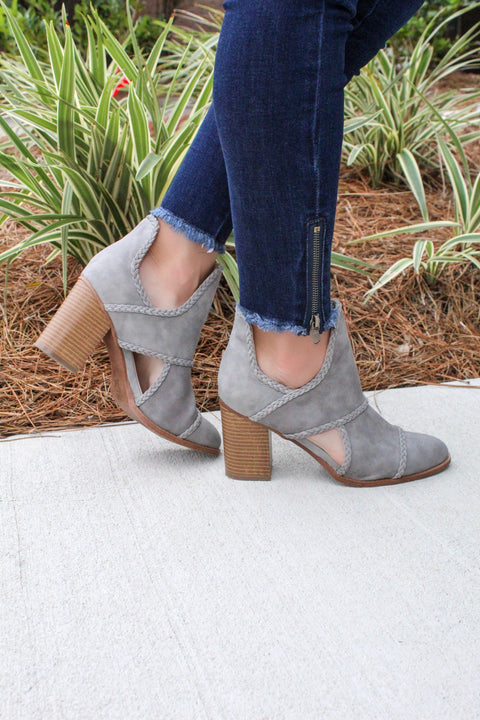 'WELLS' Bootie - GRAY