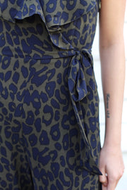 'PERRY' Leopard Jumpsuit-FINAL SALE