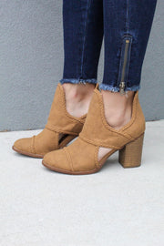 'WELLS' Bootie - TAN