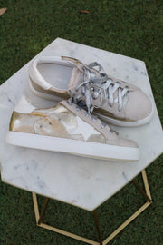 GG Star Sneakers - GOLD - FINAL SALE
