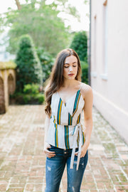 The Calia Stripe Tank