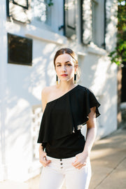 The Meyer One-Shoulder Top - Final Sale