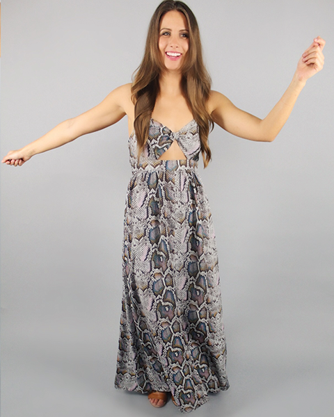 'KENDALL' Buddy Love Maxi Dress - Mermaid