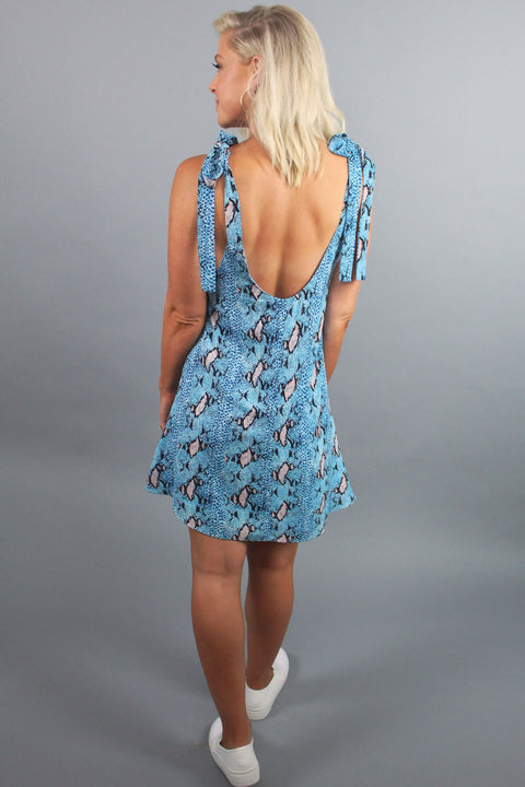 'KERR' Buddy Love Dress - Cobalt