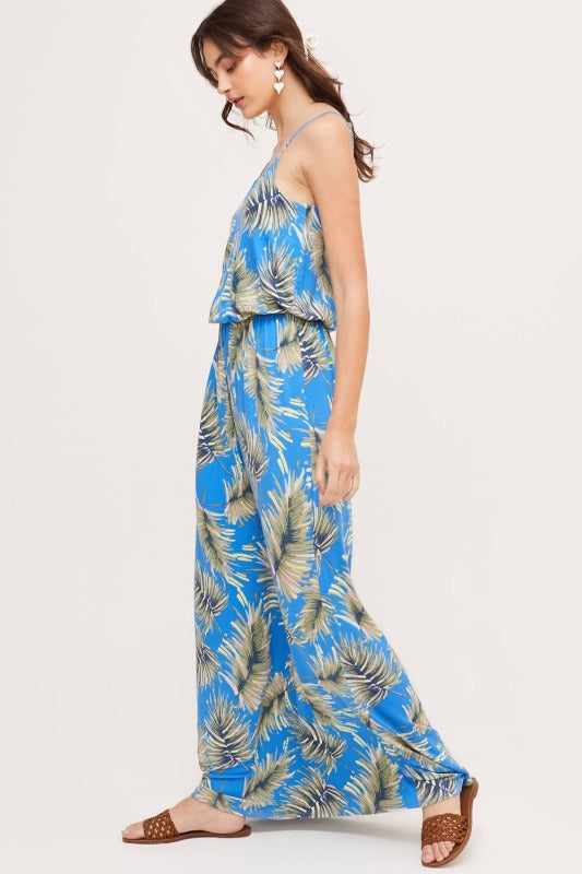 PALM Printed Maxi Dress