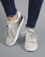 GG Star Sneakers - Silver - FINAL SALE